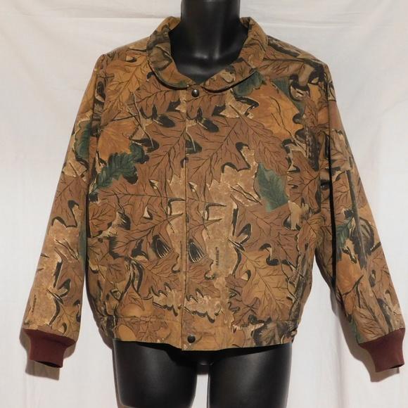 Texsport Jackets Coats Mens Medium Quilted Hunting Jacket Vanish